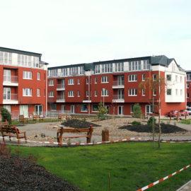 Výstavba bytových domů v Úvalech