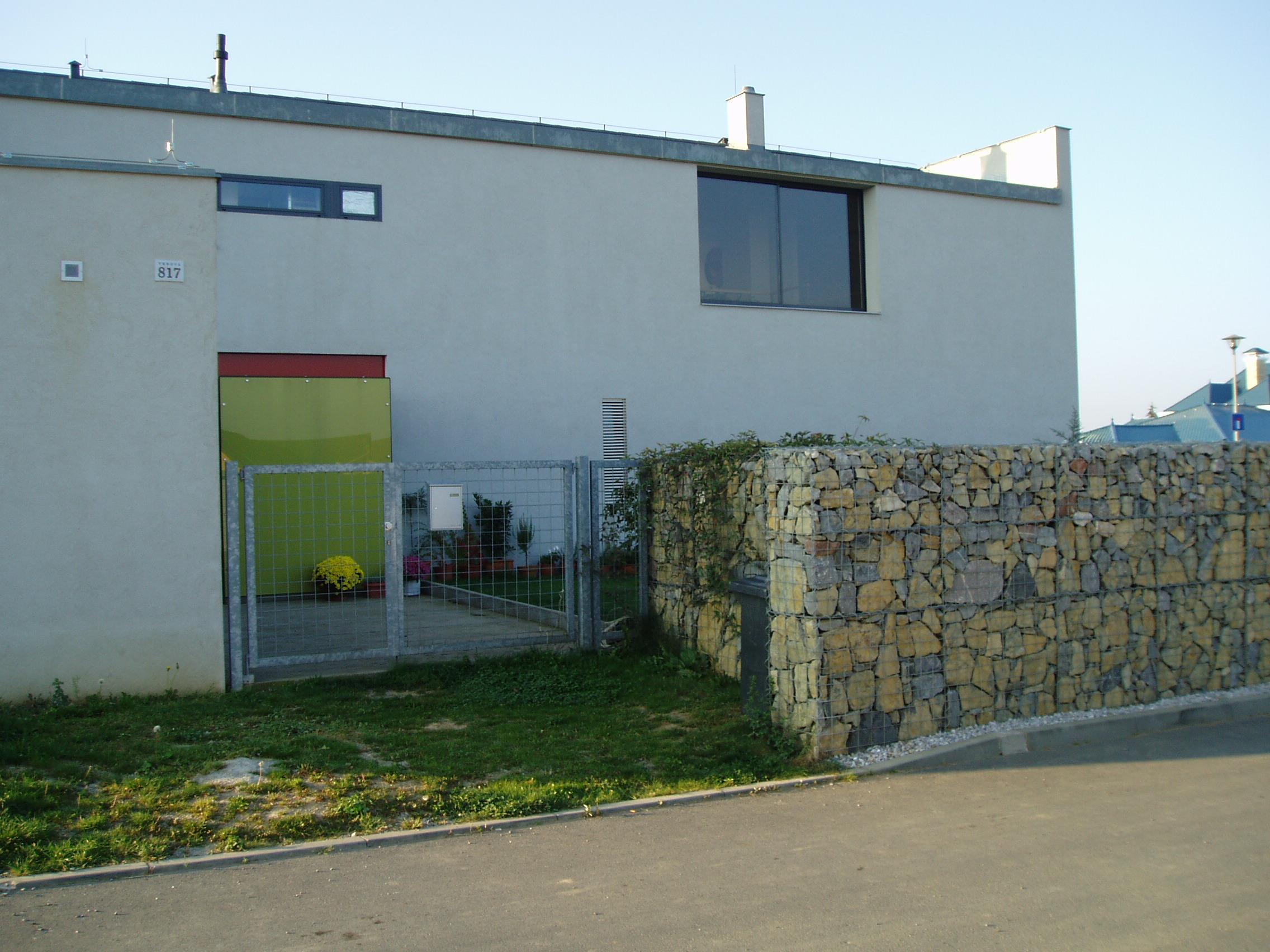Výstavba rodinného domu v Jesenici u Prahy