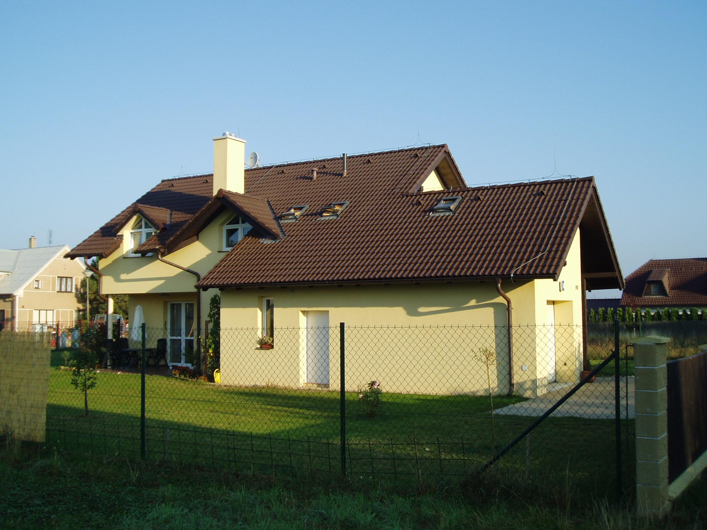 Výstavba rodinného domu v Jesenici